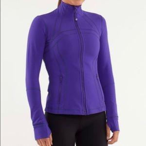 Lululemon purple define jacket
